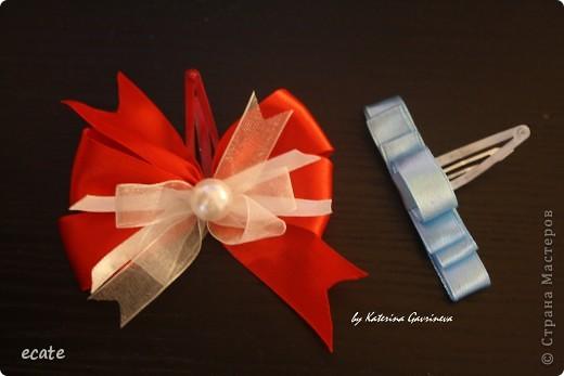 Бантики и повязочки для маленьких модниц фото 1