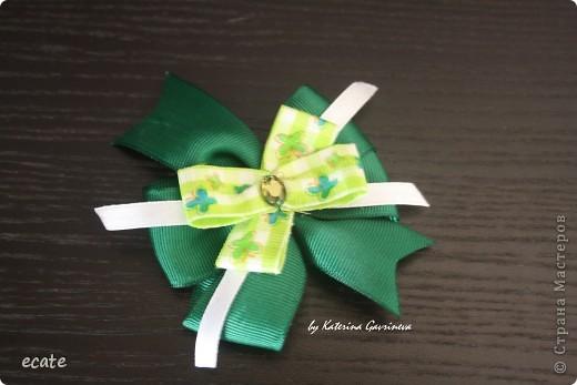 Бантики и повязочки для маленьких модниц фото 2