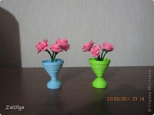 """Сделала сотруднице в подарок букетик роз, муж заказал такой же)))) Пришлось крутить, сделала - сказал """"Мой лучше!"""""""