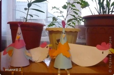 Вот такие у нас получились цыплята-открытки. фото 6