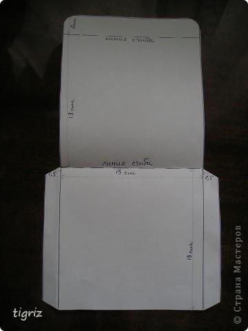 Вот такие конвертики (коробочки) для дисков с мультяшками у меня получились из журналов. фото 4