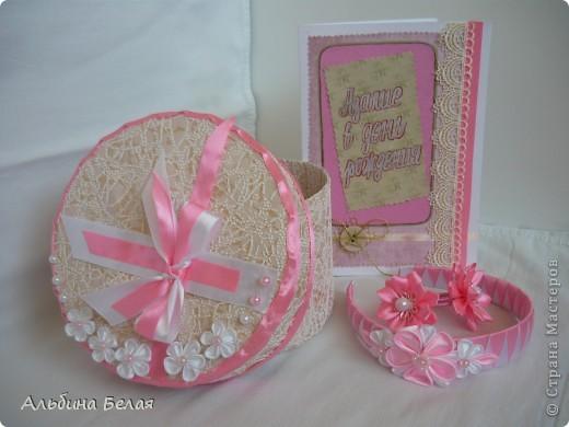 Вот такие заколки, резинки и ободок сделала в подарок на день рождения дочери подруги. фото 5