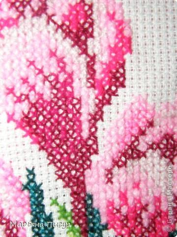 Картинка-вышивка любимых цветов - крокусов - МЕЧТЫ СБЫВАЮТСЯ!!!! фото 2