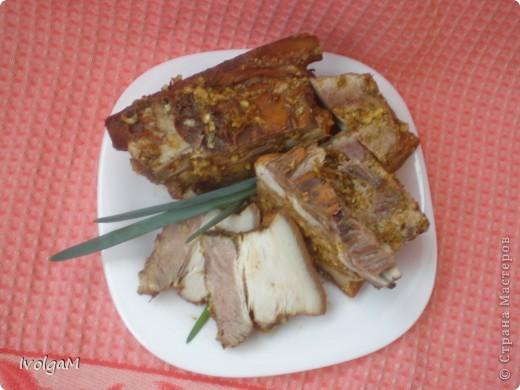 По этому рецепту можно готовить и мясо, и курицу. У меня сегодня грудинка. фото 2
