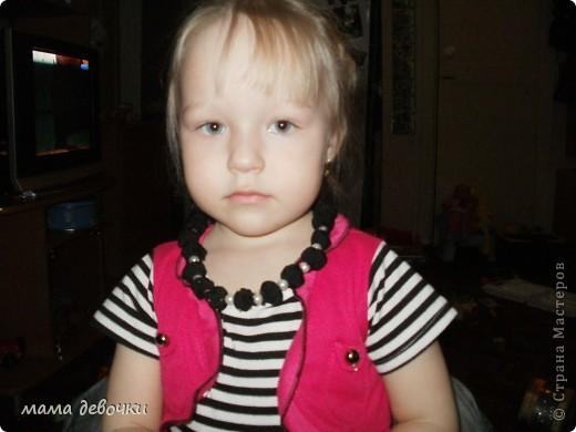 Такой вариант подайтет если любимые бусы порвал ребенок, а под платье срочно нужен яркий акцент (1ч-1,5ч и готово, можно идти гулять!!! фото 4