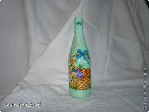 Бутылочка к Пасхе