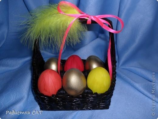 Корзиночки для пасхальных яиц. фото 6