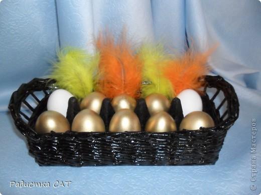 Корзиночки для пасхальных яиц. фото 2