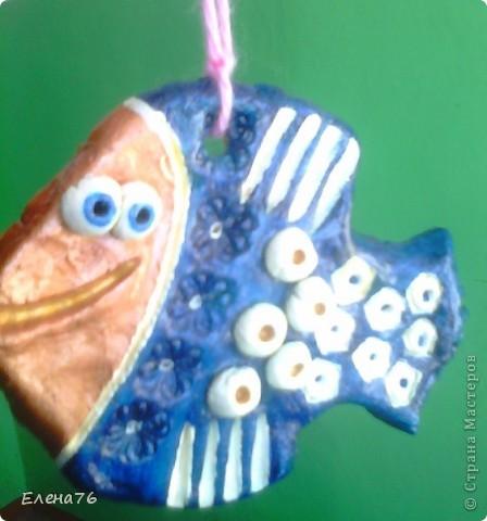 Золотая и Синяя рыбки фото 2