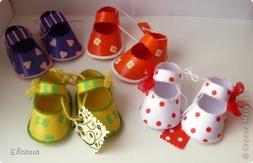 Подарочные сандалики фото 1