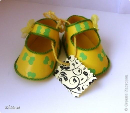 Подарочные сандалики фото 5