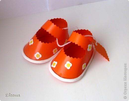 Подарочные сандалики фото 9