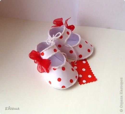Подарочные сандалики фото 3