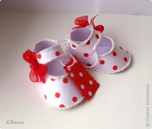 Подарочные сандалики фото 4