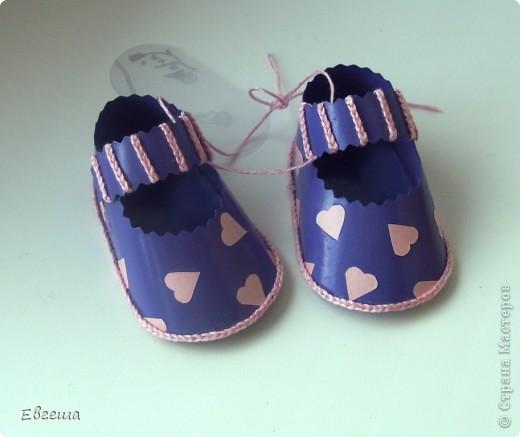 Подарочные сандалики фото 7