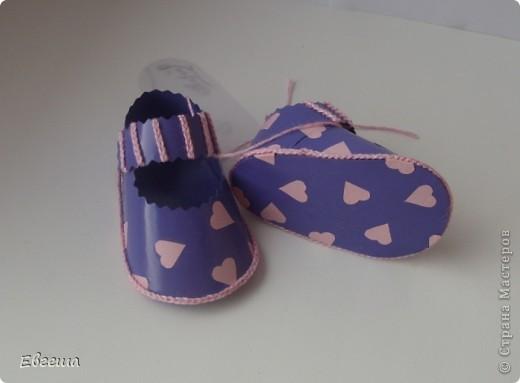 Подарочные сандалики фото 8