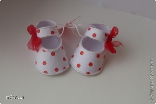 Подарочные сандалики фото 2