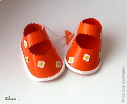 Подарочные сандалики фото 10