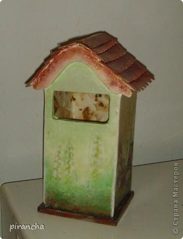 Ну вот и у меня есть домик для чайных пакетиков, только рыжая не понимает что ЭТО. фото 4