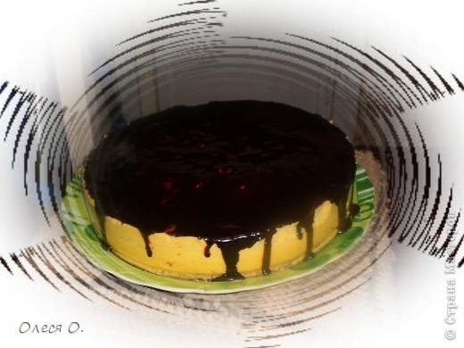 """""""Птичье молоко""""-один из любимых тортиков в нашей семье. У мамы, конечно, получается и красивей и вкусней,но мой тоже быстро """"улетает"""". фото 1"""