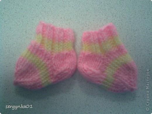Носочки для куклы Беби Бон фото 1
