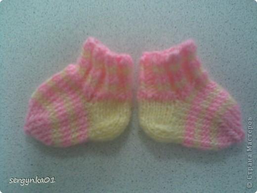 Носочки для куклы Беби Бон фото 2