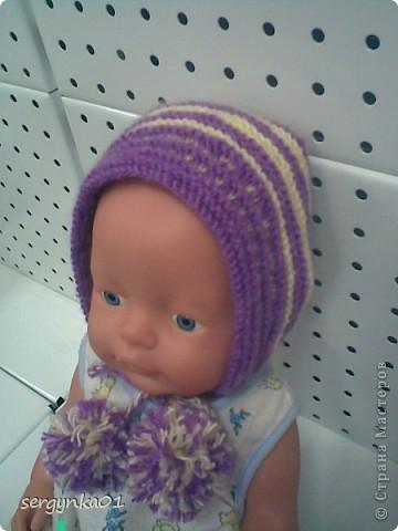 Носочки для куклы Беби Бон фото 4