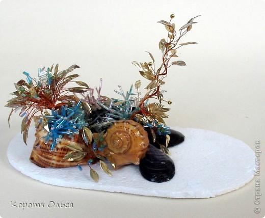 Эти водоросли придумала я сама. Теперь их плетут наши педагоги с ребятами да же в детском саду. фото 5