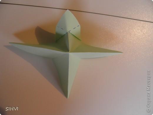 Мастер класс *Origami Aquilegia flower* фото 11