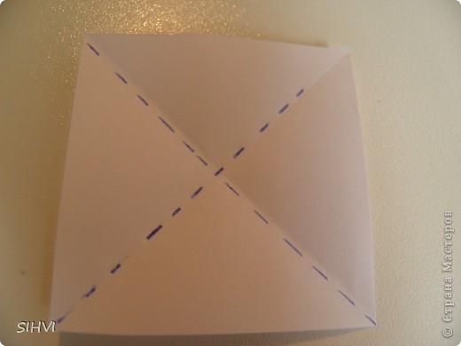 Мастер класс *Origami Aquilegia flower* фото 4