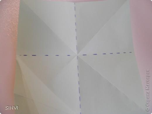Мастер класс *Origami Aquilegia flower* фото 5