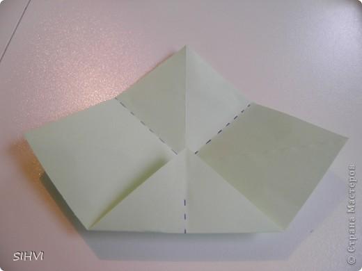 Мастер класс *Origami Aquilegia flower* фото 6