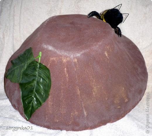 Грибная шляпа для костюма Лешего фото 2