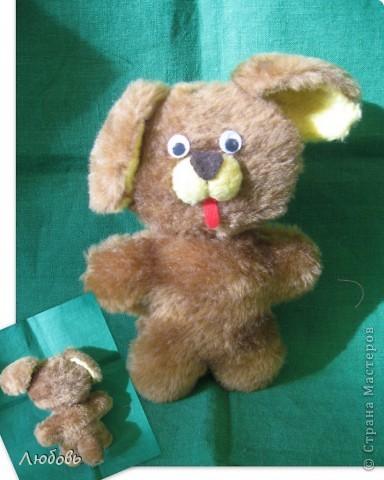 """Одна из тем моих занятий """"Топтыжки"""" - плоские игрушки из меха. Здесь используется одна основа - туловище и голова, а все остальное - разные детальки (уши, хвосты, мордочки) Это мой вариант мишки. А девочки определились со своими зверюшками и начали творить... фото 7"""