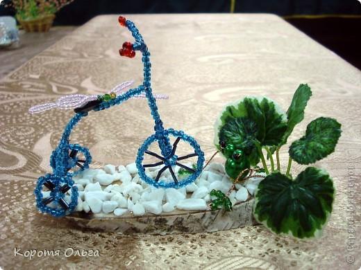 Я буду долго гнать велосипед. Люблю придумывать различные композиции из миниатюр. Всем очень нравится. фото 1