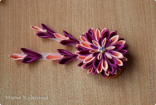Резиночка-хризантема фото 1