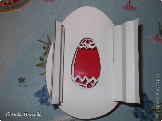 После мучений с яйцами в технике pop-up, всё думала, как сделать бумажный туннель, но слои оставить овальной формы. фото 5