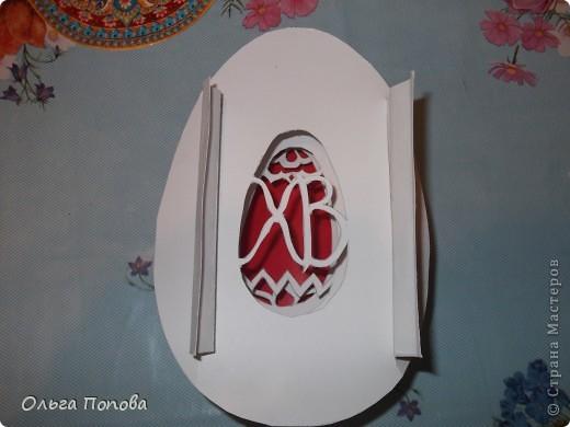 После мучений с яйцами в технике pop-up, всё думала, как сделать бумажный туннель, но слои оставить овальной формы. фото 6
