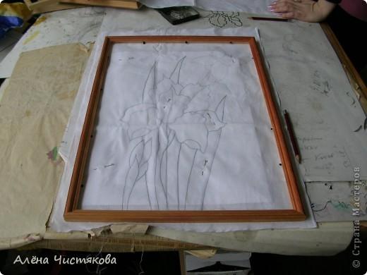 Моя первая в жизни работа в технике горячий батик. фото 2
