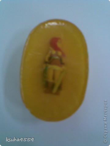 Мое второе мыло из основы - детское фото 1