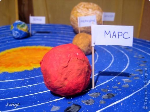 """Делали с сыном поделку на конкурс """"Космос глазами детей"""" к Дню космонавтики, в школу. Модель Солнечной системы фото 3"""