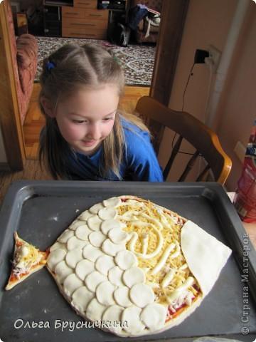 Когда-то в гостях попробовала Пирог-Рыбку.Очень понравилось оформление и возможность удивить гостей за праздничным столом. фото 18