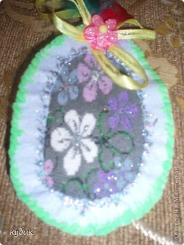Еще мы решили сшить вот такие яйца, идею взяли где то в интернете, за что огромное спасибо мастеру!!!!!!!!!!! фото 5