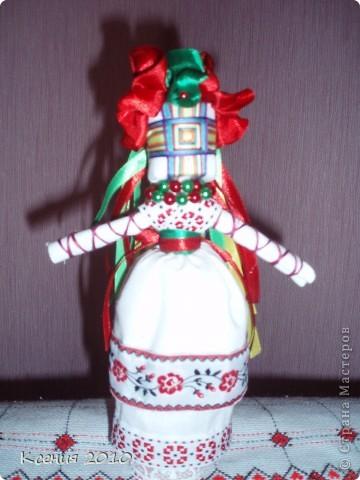 Предлагаю  мастерицам такой  старинный  оберег,  думаю  всем захочется  сделать такую  куклу-мотанку фото 2