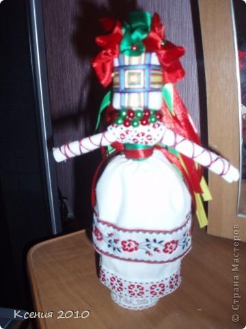 Предлагаю  мастерицам такой  старинный  оберег,  думаю  всем захочется  сделать такую  куклу-мотанку фото 5