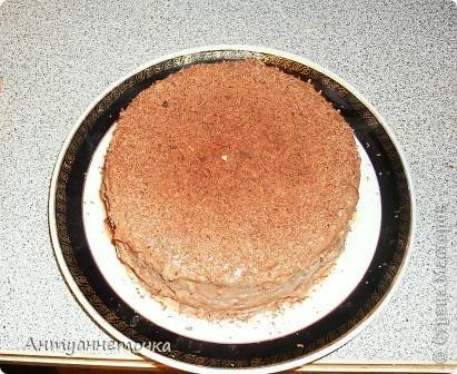 Шоколадно-медовый торт. фото 3