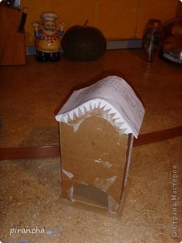 Ну вот и у меня есть домик для чайных пакетиков, только рыжая не понимает что ЭТО. фото 10