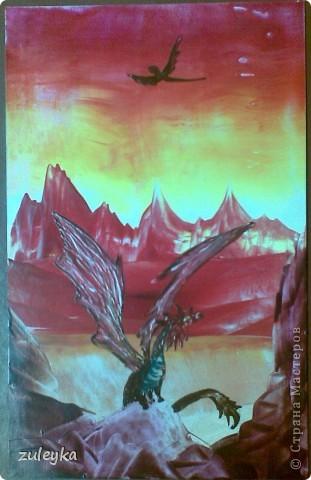 дракон в горах фото 2