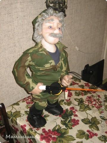 У моего бывшего директора юбилей. Решила попробовать сделать портретную куклу фото 3