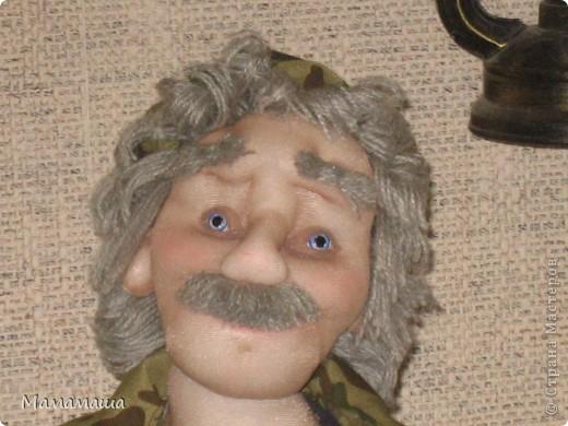 У моего бывшего директора юбилей. Решила попробовать сделать портретную куклу фото 4